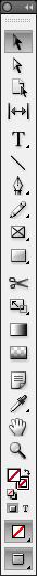 InDesign verktyg