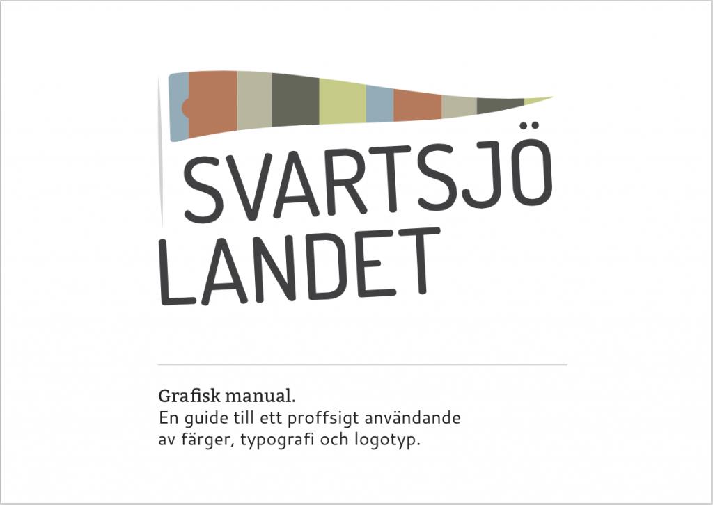 Svartsjölandet grafisk profil